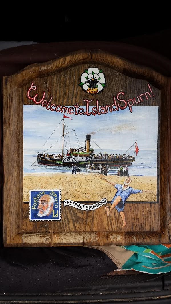 Republic of Spurn on Driftwood